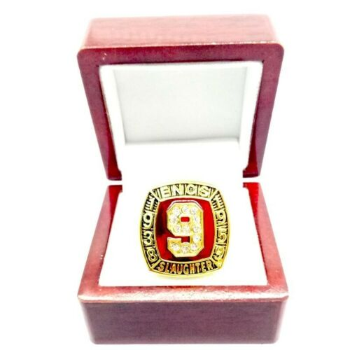 1938 1959 Enos Slaughter #9 sport hall of fame ring US size 11