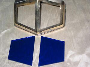 Jeux De 2 Verres De Lampe Pirouett De Bureau Vitrail Bleu Pour Lampe Normale. 50 MatéRiaux Soigneusement SéLectionnéS
