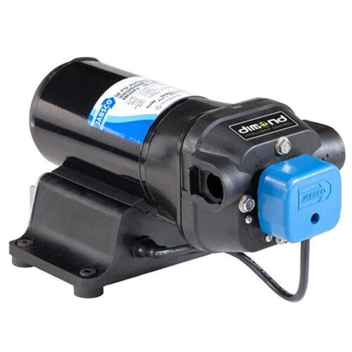 42755-0092 Jabsco V-FLO Water Pressure Pump with Strainer 12VDC 40PSI 5GPM
