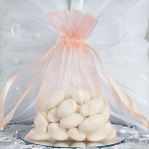 "10 pcs 6x9/"" Gold ORGANZA FAVOR BAGS Wedding Party Reception Gift Favors SALE"