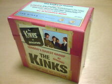 THE KINKS, THE KINKS IN MONO 10 CD BOX SET MEGARARE (FACTORY SEALED)