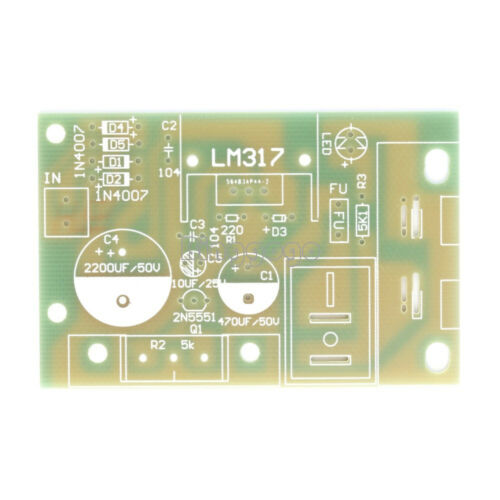 LM317 DC 5V-35V DIY Kit AC//DC Adapter Netzteil Power Supply Board Module Set