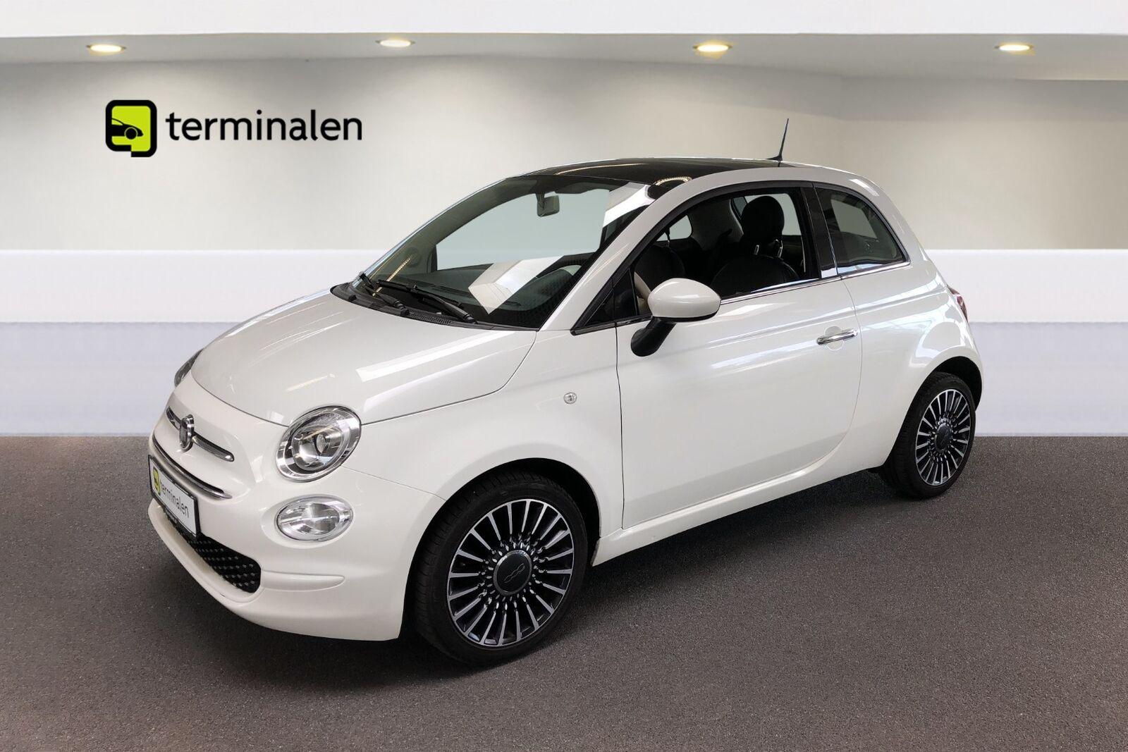 Fiat 500 0,9 TwinAir 80 White Edition 3d - 114.900 kr.