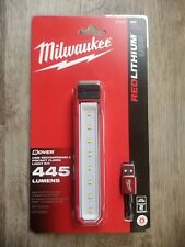 Milwaukee 445-lumen LED Rover Rechargeable Pocket Flood Light Impact and Chemic
