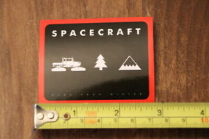 SPACECRAFT Snowboard STICKER Decal NEW Very Good