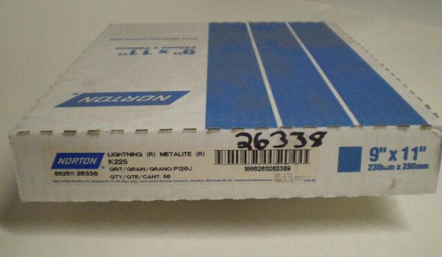 Norton 1 in EZ Flex cloth 50-x grit