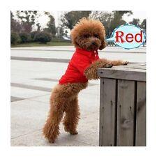 Hundebekleidung Hundeshirt T-Shirt Hundepolo Poloshirt Chihuahua Yorky Rot XS