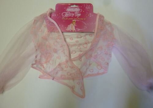 Children Girl Magical Fairy Top Fancy Dress Up Princess Christmas Party Pink