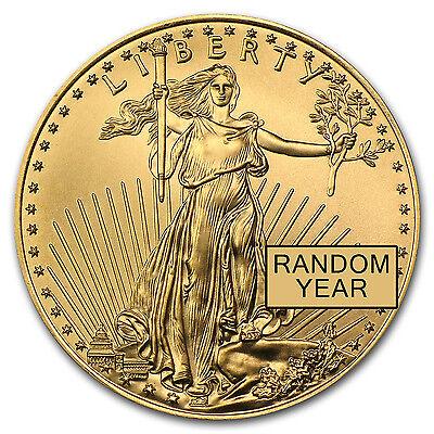 1/4 oz Gold American Eagle Coin - Random Year Coin - SKU #3