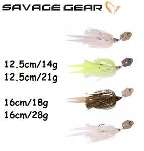 Savage-Gear-Crazy-Blade-Jigs-Pike-Perch-Bass-12-5cm-16cm-diverses-couleurs-Predator