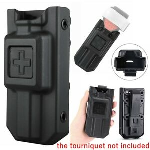 Tactical Tourniquet and Black Case Holder Holster Emergency Survival Hunting US
