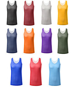 check out 4c4fb f311b Image is loading ARC-Clearance-Men-Sport-Reversible-Mesh-Tank-Top-