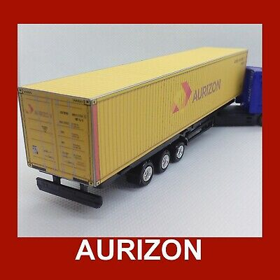 1:76 Oo Scale Cargo Rail Freight Shipping Containers Aurizon