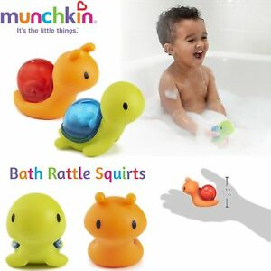 Munchkin-Bath-Time-Fun-Toy-For-All-Ages-Shake-Rattle-amp-Squirt-Bright-Colours-New