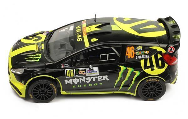 essere molto richiesto IXO modellos Ford Fiesta Fiesta Fiesta RS WRC  46 2nd Monza 1 18 18RMC014  fino al 50% di sconto