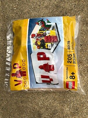 LEGO 40178 VIP Limited Promo Lego Store Poly Bag