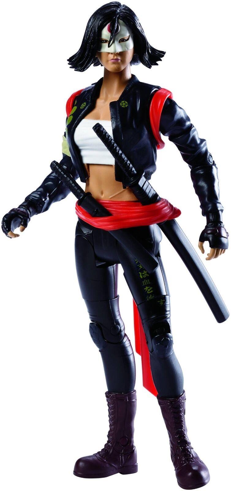DC Multiverse Suicide Squad Katana Figure - 6'' 15 cm tall - Joker Harley Quinn