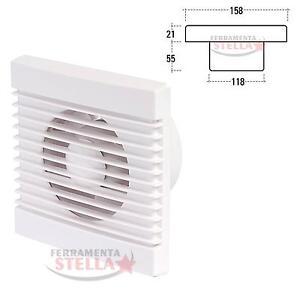 Aspiratore elettrico vortice aria areatore areazione 120 ventola bagno cucina ebay - Aspiratore bagno vortice silenzioso ...