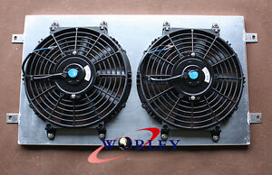 For-HQ-HJ-HX-HZ-253-amp-308-V8-Holden-engine-Aluminum-Radiator-Shroud-Thermo-Fan