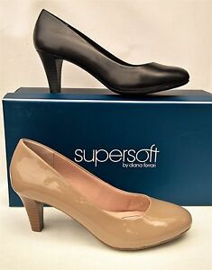 New-Supersoft-shoes-by-Diana-Ferrari-mid-heel-Shoes-all-leather-Corey