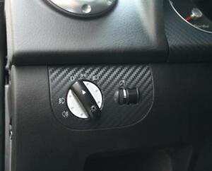 Audi TT 8N RS Roadster Coupé quattro Dekoreinlage Lichtschalter Carbonoptik