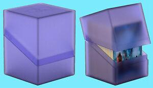 ULTIMATE-GUARD-BOULDER-AMETHYST-Standard-Size-DECK-CASE-100-NEW-Card-Box-MTG