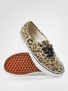 VANS AUTHENTIC VAN DOREN LEOPARD BLACK SZ MENS 11.5 SHOES NIB ERA ... 0c39780d2