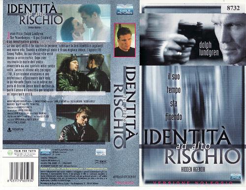 Identità ad alto rischio (1998) VHS