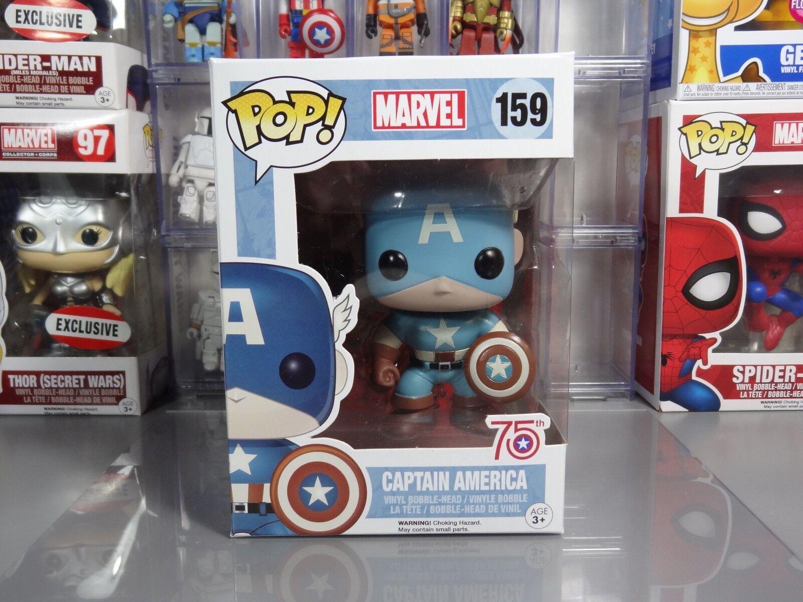Funko POP  Marvel 75th Anniversary Amazon Exclusive Captain America