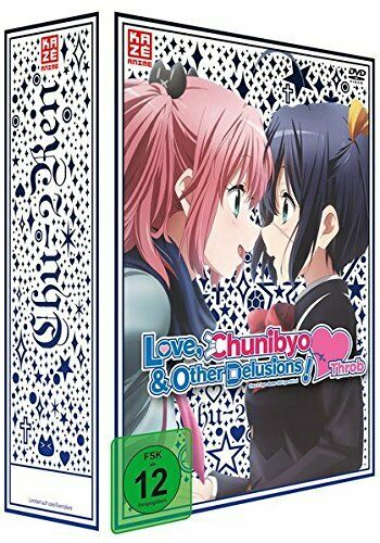 Love Chunibyo & Other Delusions! Heart Throb Staffel 2 Vol.1 DVD Limit Collector