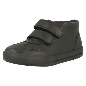 Boys Clarks Hi Top School Shoes Mini Idol Dauerhaft Im Einsatz