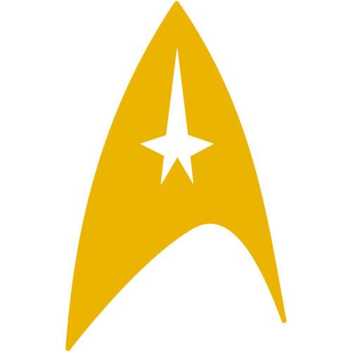 "Star Trek Command Fleet Insignia Badge 4/"" Vinyl Decal Car Window Sticker v2"