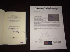 Bill Clinton US President Signed Autograph Book Between Hope History PSA/DNA LOA