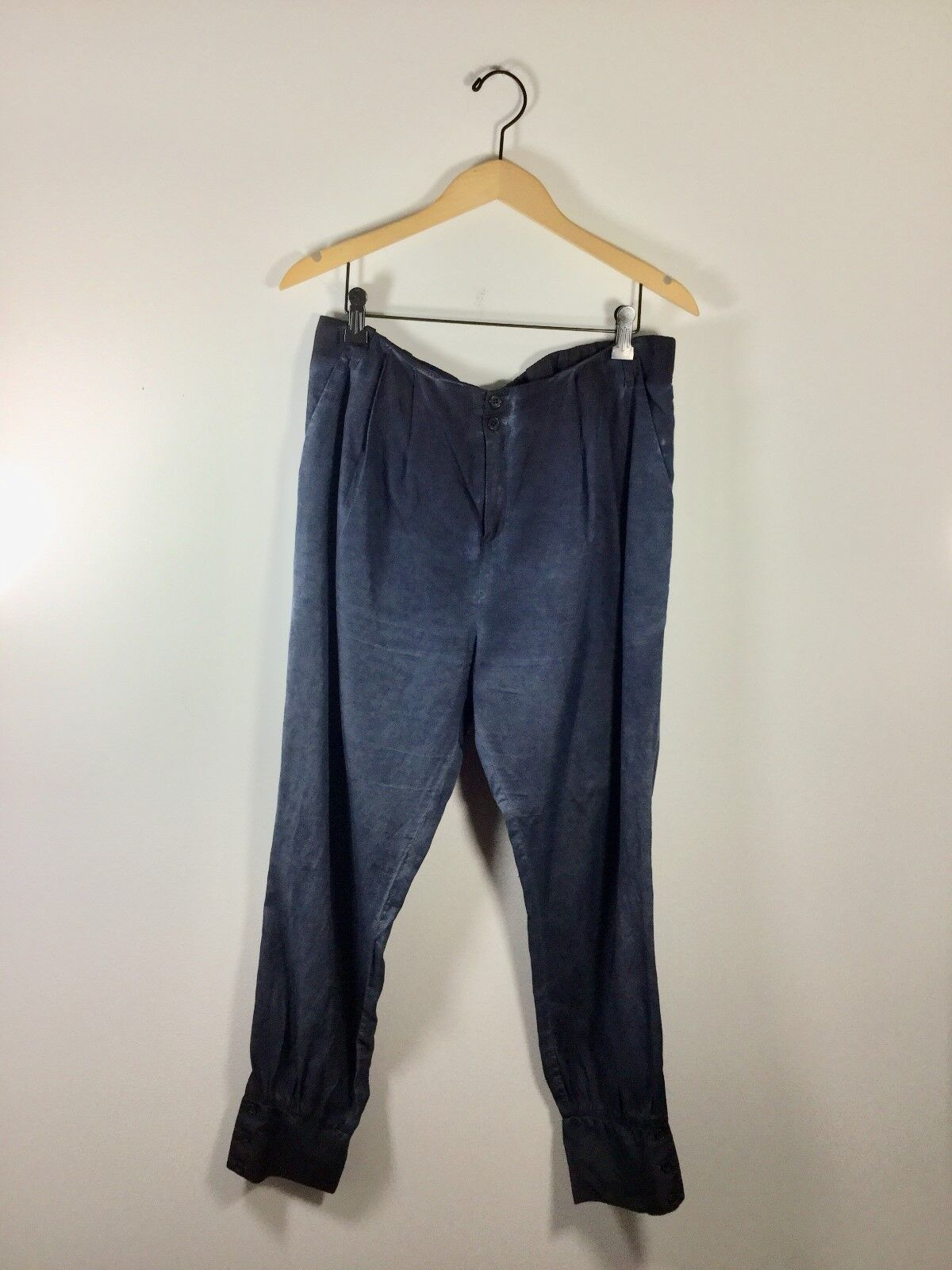 J BRAND Navy bluee Tapered Leg Relaxed Pant Size 8