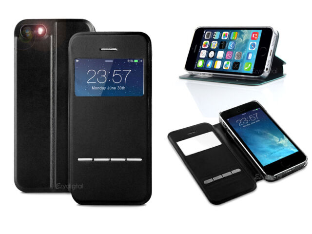 New iPhone 5 5S Flip Slim Swipe Stand Case Cover