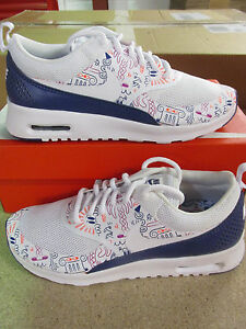 best loved 35dc1 90bbf Image is loading nike-womens-air-max-thea-print-running-trainers-