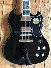 Epiphone Limited Edition Tony Iommi SG Custom Ebony Gibson USA Signature Pickups
