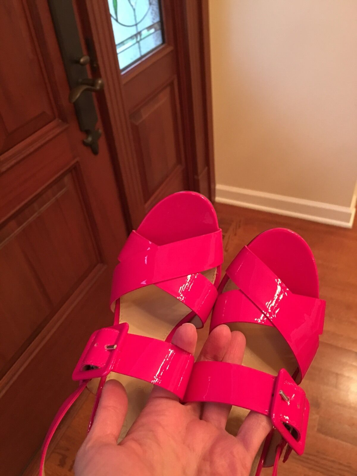 Men/Women JCrew Sydney Pink, Patent Sandals, Pink, Sydney 6 Not so expensive comfortability Most practical 369e13
