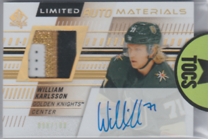 William-Karlsson-2019-20-SP-Authentic-Limited-Auto-Materials-Dual-088-100-Knight