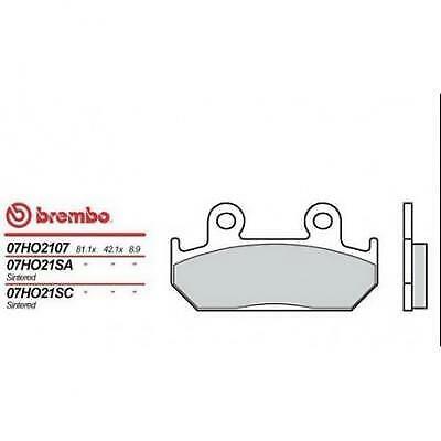 Pastillas de freno BREMBO compatible con HONDA VTZ 250 1988- (F) (1 DISK)