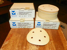 "40 Grit 5/"" Hook /& Loop Red Sandpaper Pack KEEN Abrasives #32200 200"