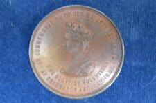 Queen Victoria 1881 Medal  SCOTTISH  MILITARY  VOLUNTEERS  REVIEW Edinburgh