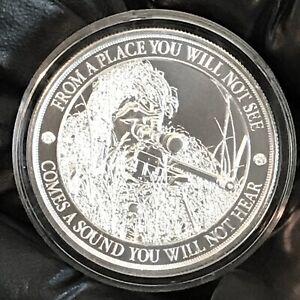 American-Sniper-1-oz-999-Silver-BU-Round-LIMITED-USA-Made-Bullion-AG-47-Coin