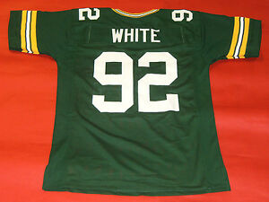 Reggie White Green Bay Packers Green Men/'s American Football Retro NFL Jersey