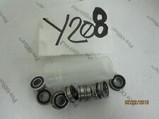 """10 Bearing SSFR1882RS 1/4""""x 1/2""""x 3/16"""" Ball Bearings R1882RS with 35/64'' Lip"""