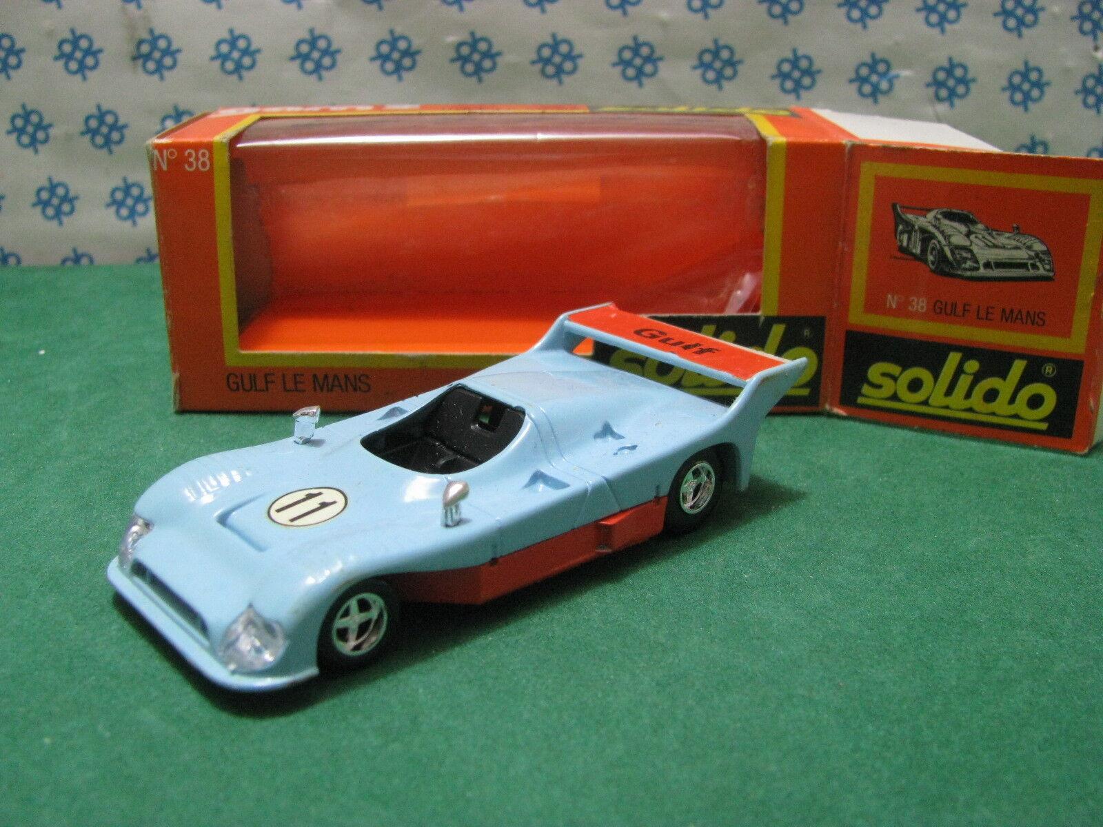 GULF  Le Mans  Gruppo  8              -  1 43  Solido  38