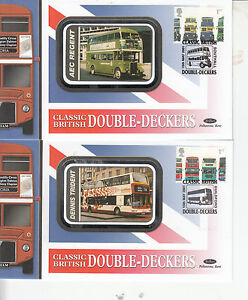 2001 Benham Silk Covers BS7680 BUSES DOUBLE DECKERS  5 covers - Halesworth, United Kingdom - 2001 Benham Silk Covers BS7680 BUSES DOUBLE DECKERS  5 covers - Halesworth, United Kingdom