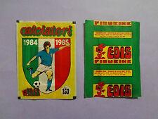 BUSTINA CALCIATORI EDIS 1984-85 1984-1985  L. 150  PIENA FULL NEW-FIO