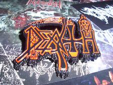 Death Badge Import Pin Anstecker Old Logo Mantas Death Metal Morbid Angel