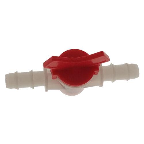 2 pcs Aquarium Regelventil Wasser Durchflussregler Hebelventil für 10mm